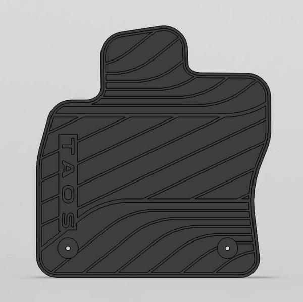 Kit alfombras PVC (habitaculo+baúl)