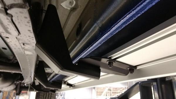 Nuevo soporte de estribo de aluminio