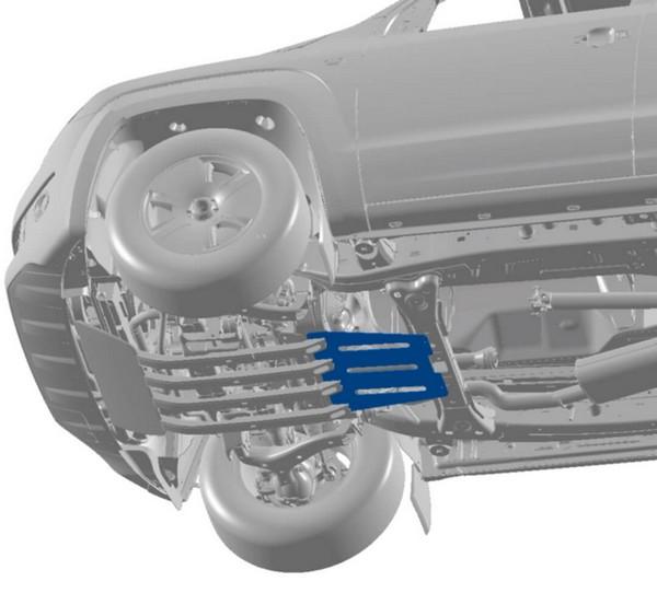 Protector para caja de cambios Amarok V6